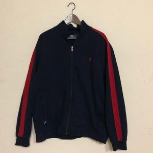 Polo by Ralph Lauren Navy & Red Zip Up Size XXL